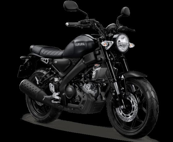XSR 155 Matte Black Elegant