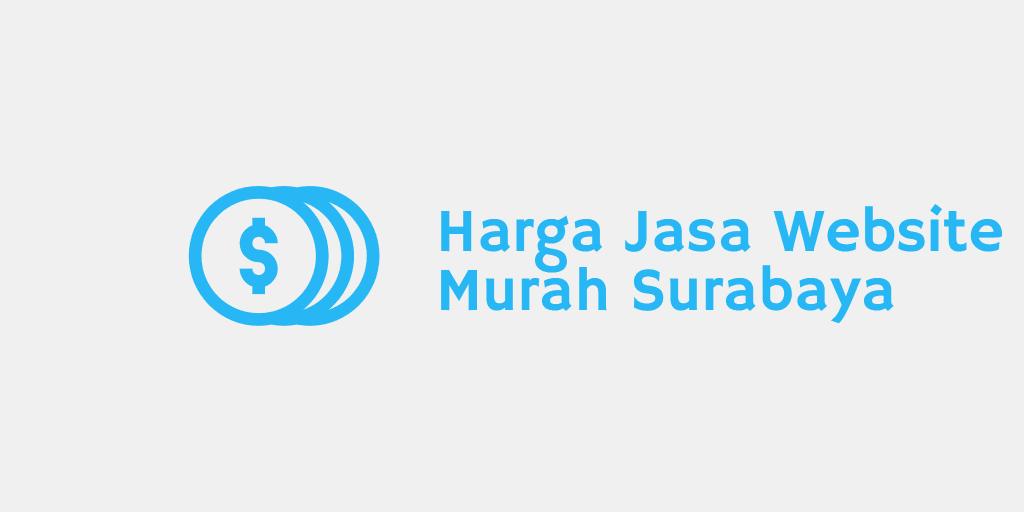 Harga Jasa Website Murah Surabaya
